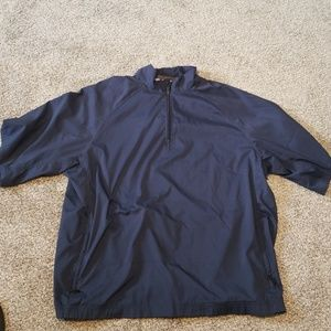 Adidas Ckimaproof wind 3/4 sleeve pullover 1/4 zip